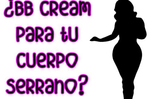 bb crema para el cuerpo