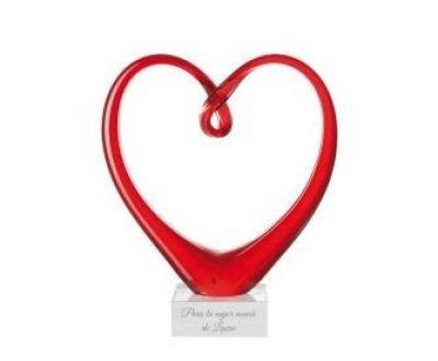 escultura corazon regalo de san valentin