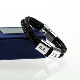 pulsera iniciales pareja para regalo