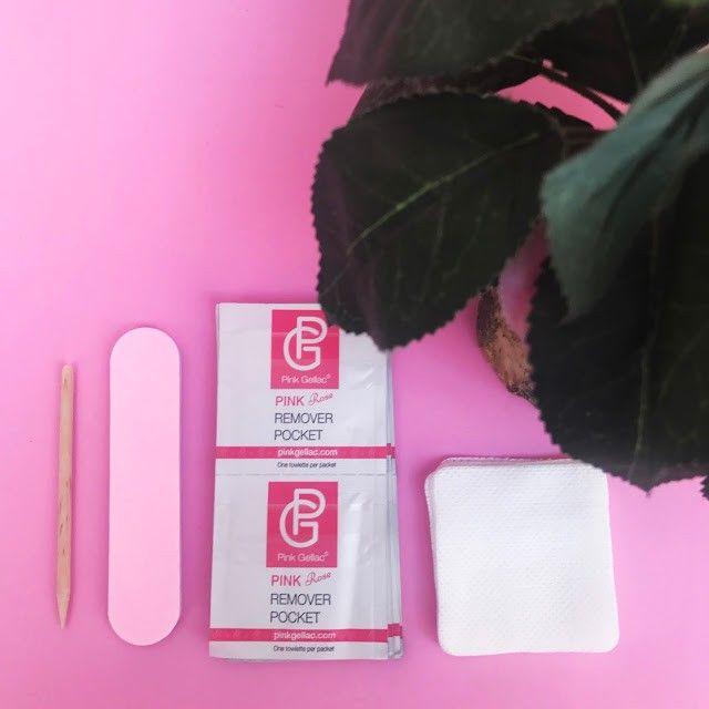kit inicio esmaltes permanentes de Pink Gellac