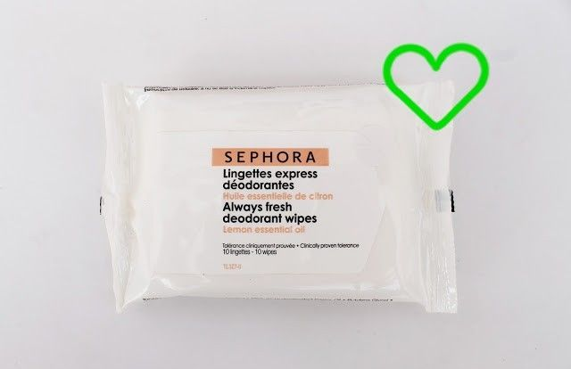 toallitas desodorantes sephora