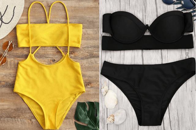 bikinis y bañadores de Zaful
