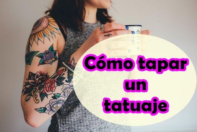 maquillaje para cubrir tatuajes