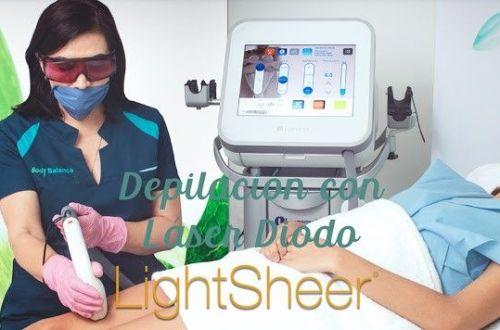 depilación láser lightsheer