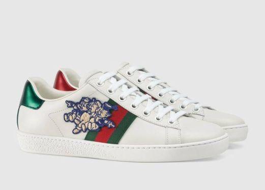 zapatillas Gucci Ace cerdito