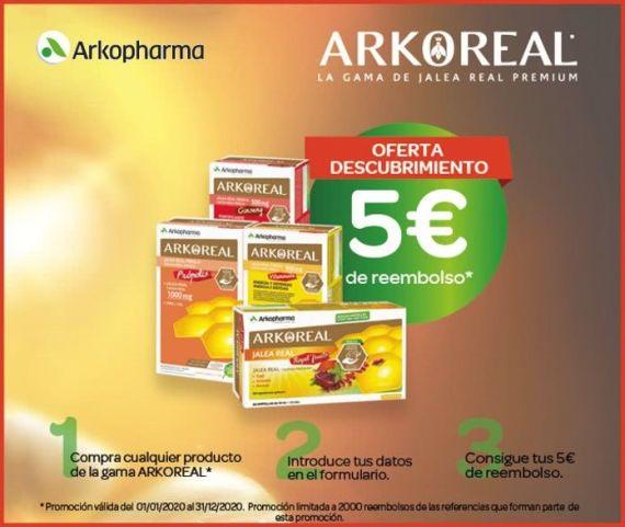 arkoreal-5-euros-reembolso
