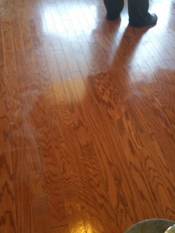 Wood Floor Cleaning in Frisco TX  TruRenew Clean