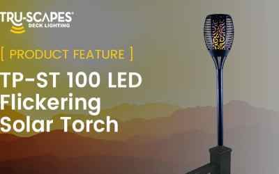 Product Feature: TP-ST 100 LED Flickering Solar Torch