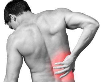 back pain car accident