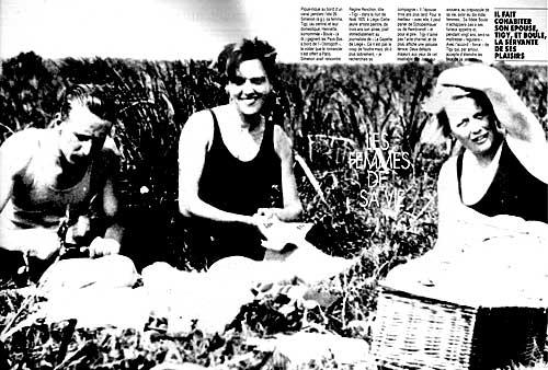 Paris Match 1989 Lnigme Simenon
