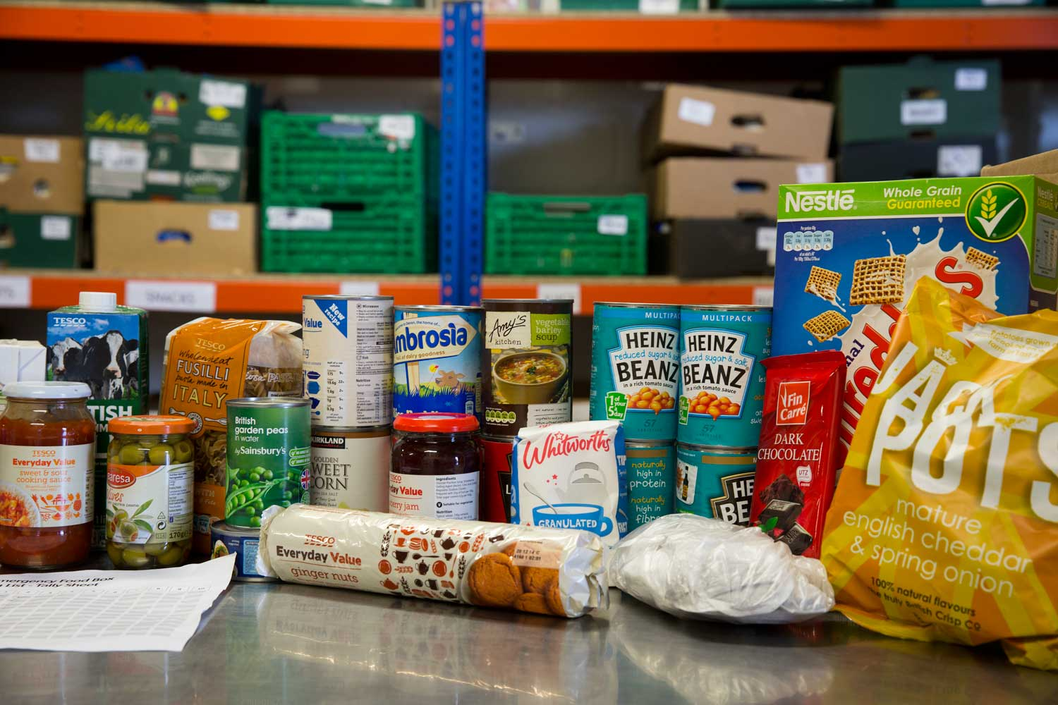 Whats in a Food Parcel  The Trussell Trust