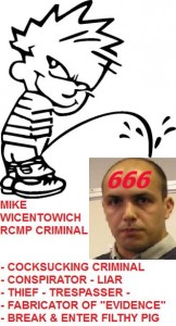 PISS ON 666 MIKE WICENTOWICH