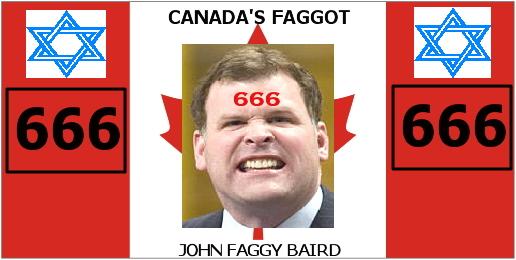CANADA'S JOHN FAGGY BAIRD'S ANAL WARTS: REAL FUCKIN' UGLY!