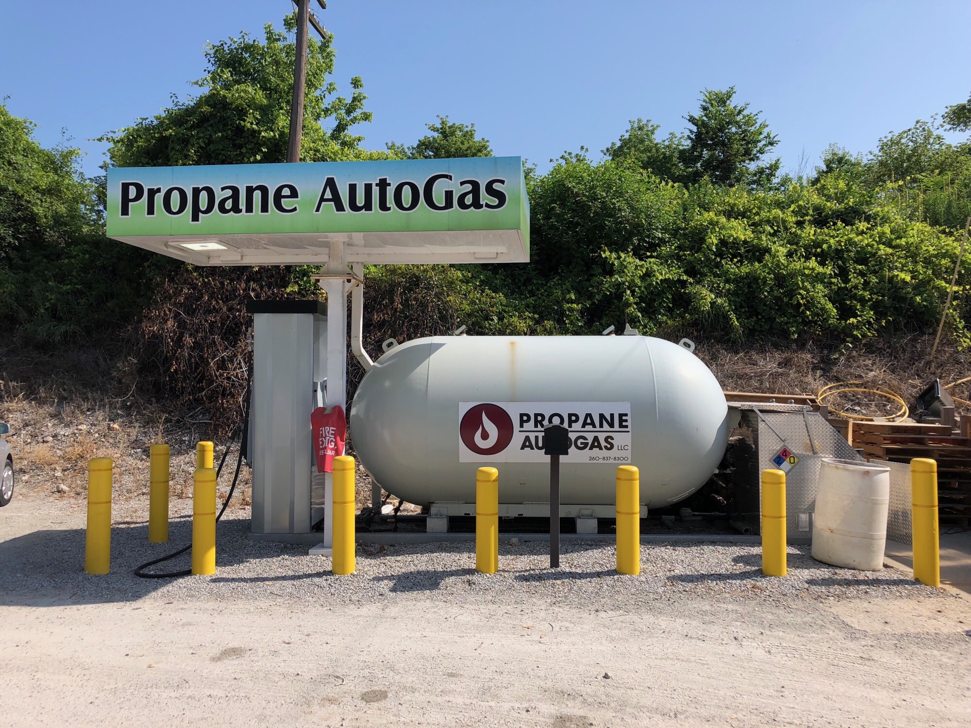 We Offer RV Propane FillUps  Colliers