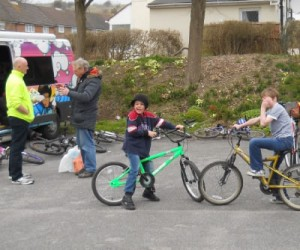 Free bike servicing with Bike for Life at Bevendean health event