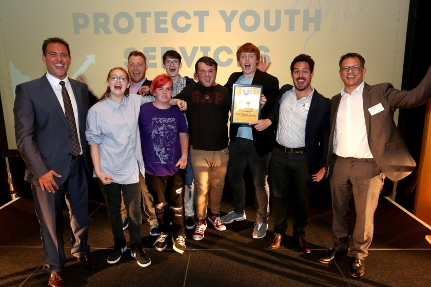 Congratulations to our Star of the Year winners - Protect Youth Services. Photograph by Sam Stephenson for The Argus