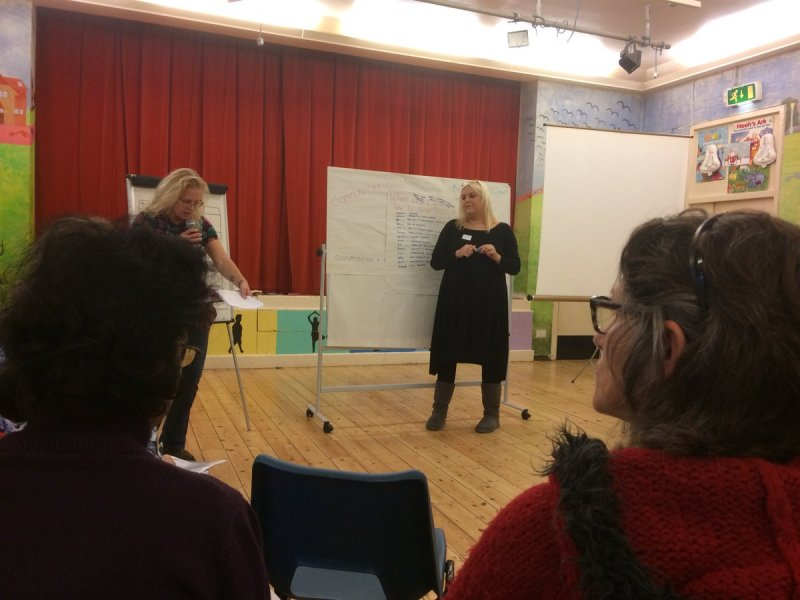 The Dementia Action Alliance came to the Hangleton & Knoll project