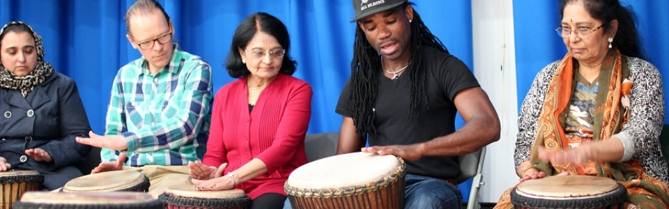 Many cultures Drumming (8) 900 x 300