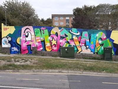 Amazing Graffiti in Whitehawk