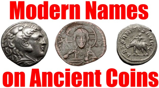 Ancient Coins that Originated Names of People