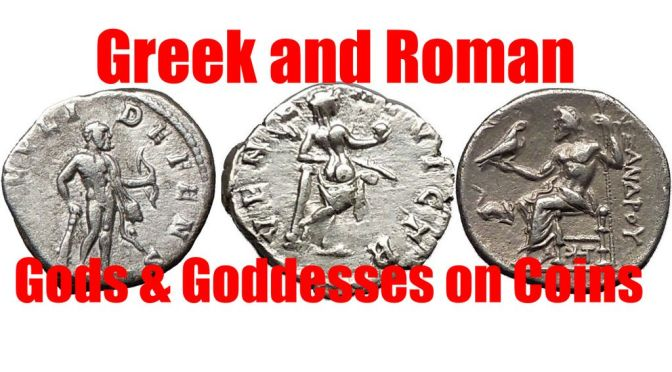 List of GODS & GODDESSES on Ancient Greek & Roman Coins for Sale on eBay