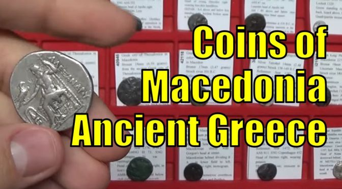 Macedonia Ancient Greek Coins