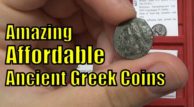 Affordable Greek Coins Circa 400bc 200ad For Sale On Ebay Cheap