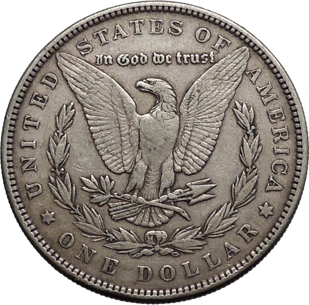 Morgan Silver Dollar United States Of America Large