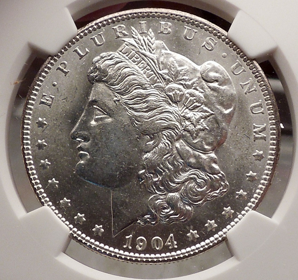 O Morgan Silver Dollar United States Of America Usa