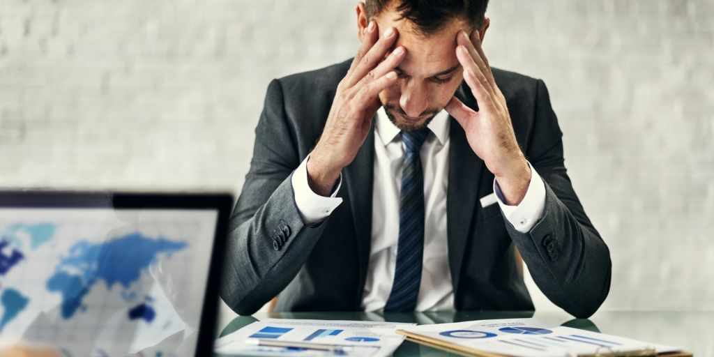 Employee frustrated by work problem