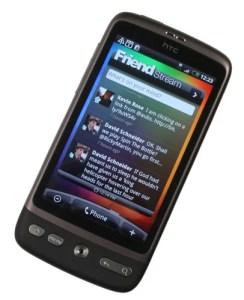 HTC Desire screen