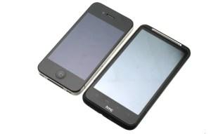 HTC Desire HD vs iPhone 4