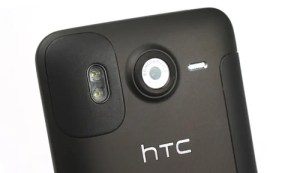 HTC Desire HD camera lens