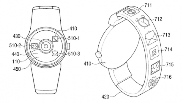 This Samsung patent could reveal the Gear S4's killer