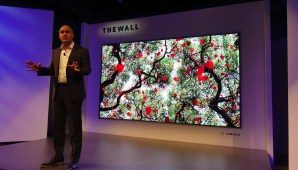 Samsung is making a consumer version of its futuristic 'The Wall' microLED TV
