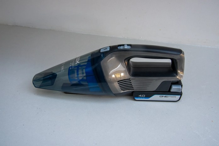 The best budget handheld vacuum cleaner is the Vax ONEPWR Cordless Hand Vac
