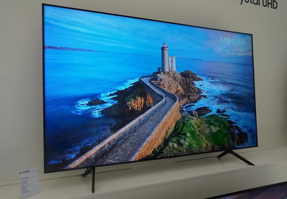 Samsung TU8000 Samsung TV 2021: Every 8K & 4K TV announced so far