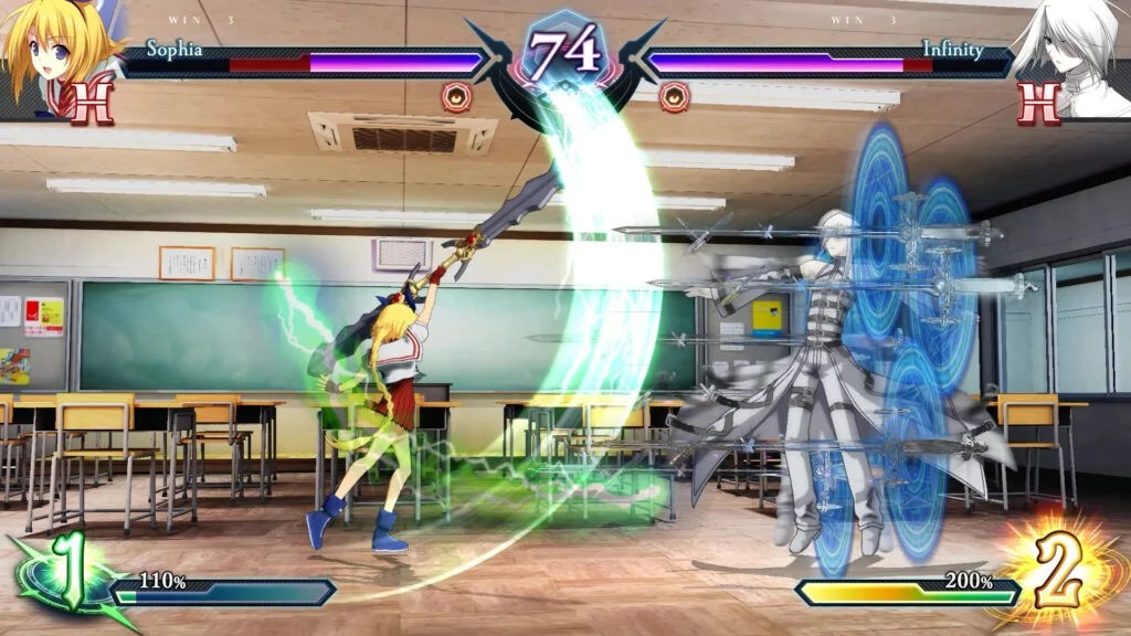 Phantom Breaker Omnia 08 Omnia bring a classic anime fighter to PS4, Xbox One and Switch in 2021