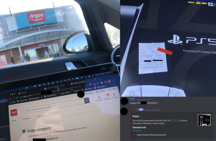UK scalpers scooped up Argos PS5 stock before it even went on sale