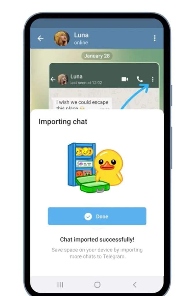 How to transfer your WhatsApp chat history to Telegram