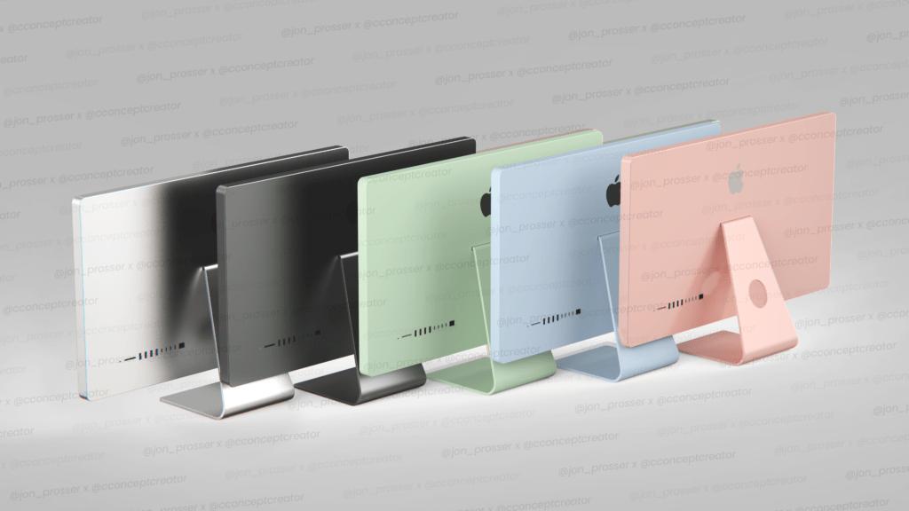 iMac 2021 color