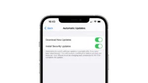 iOS 14.5 security updates