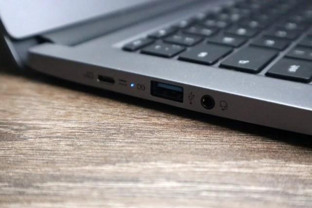 Acer Chromebook 714 ports