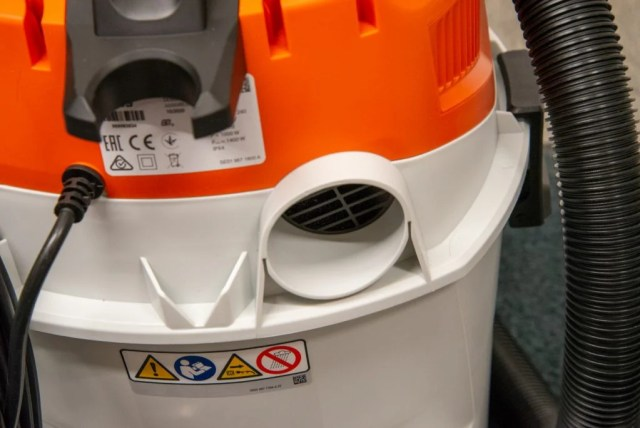 Stihl SE 33 hose attachment