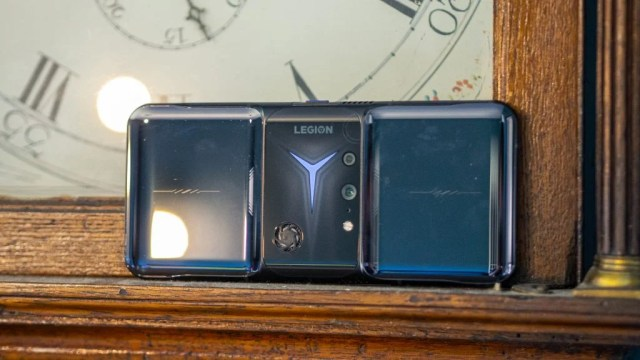 Lenovo Legion Phone Duel 2 back of the phone