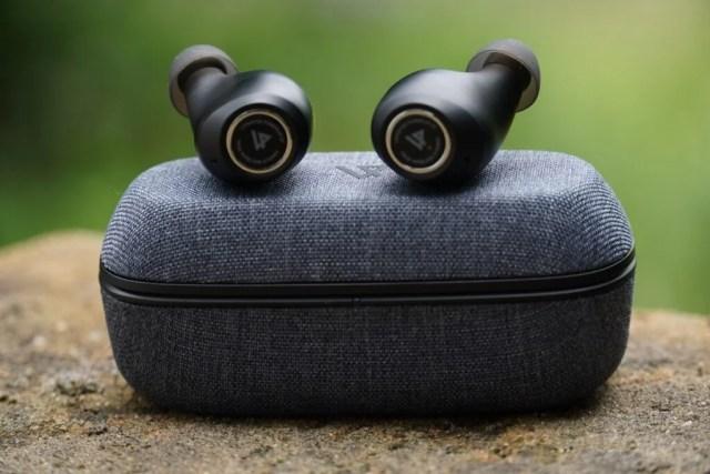 Lypertek PurePlay Z7 earbuds on top