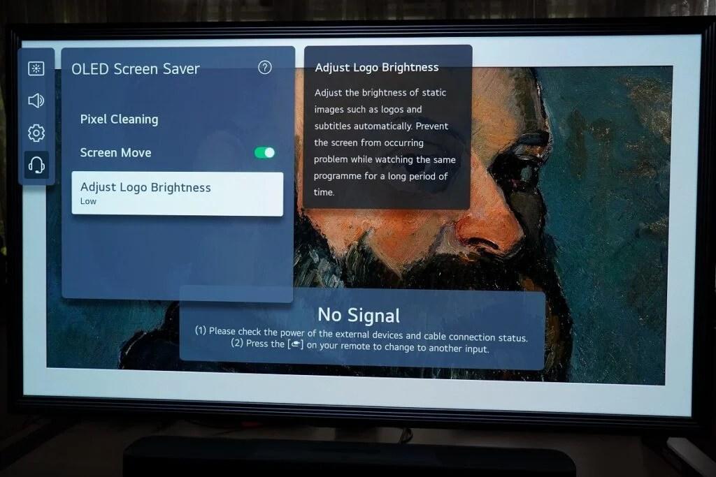 LG OLED Adjust Screen Brightness