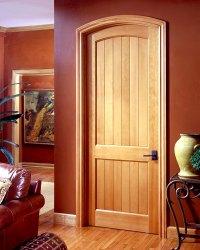Top Doors & Custom Wood Arched Top Entry Door Unit
