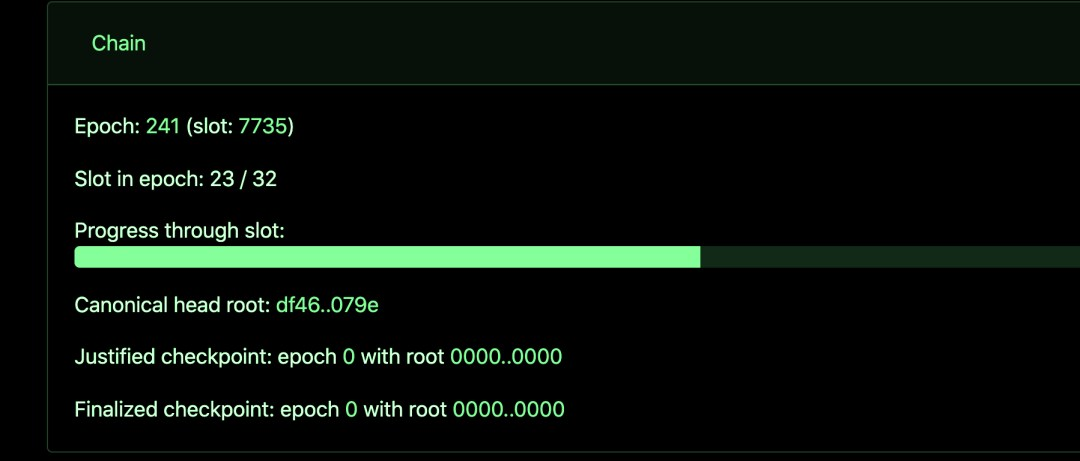 Ethereum merger devnet, May 1 2021