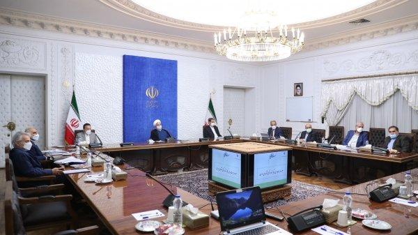Iran's President at the Economic Coordination Board